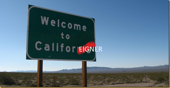 WELCOME TO CALIFOREIGNER