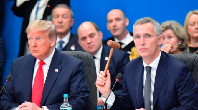 NATO Concurs With Trump That It Could Contribute More to Stability in Middle East