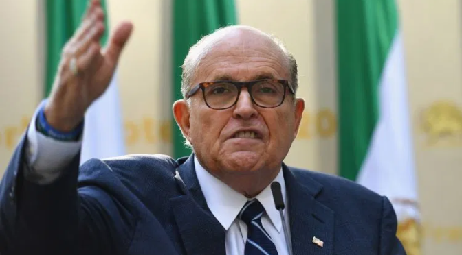 """Watch """"WHOA! RUDY BETTER HAVE SECRET SERVICE PROTECTION NOW THAT HE DID THIS….."""" on YouTube"""