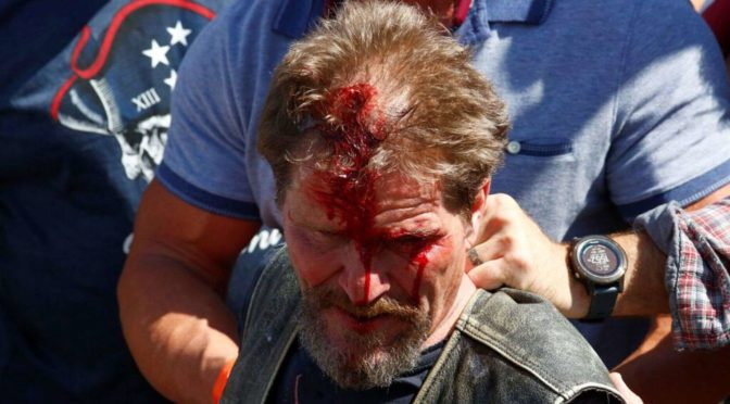 PRO-POLICE rally in Denver VIOLENTLY shut down led by Chief of Police Paul Pazen, Arm In Arm With  Communist Terrorist Groups