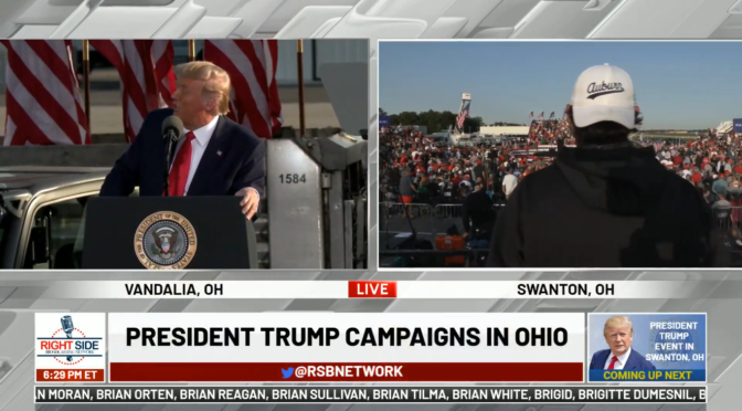 🔴 Watch LIVE: President Trump Holds Campaign Event in Vandalia, OH 9/21/20 – YouTube