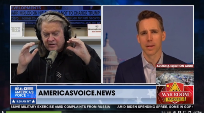 Episode 924 – Trust Busting the Aristocracy … (w/ Josh Hawley, Rudy Giuliani, Matthew S. DePerno)