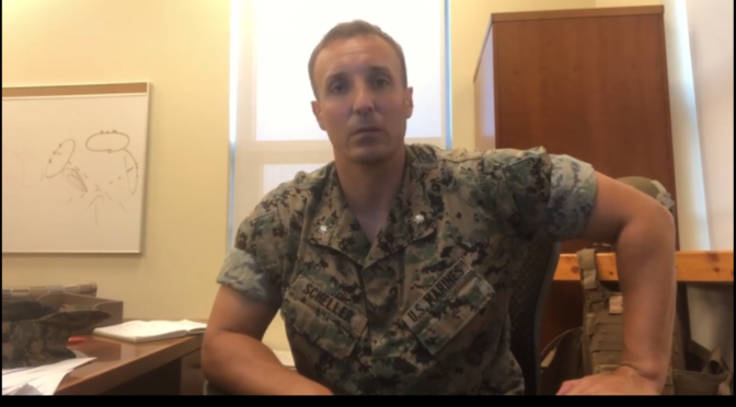 Col Scheller Holding Himself Accountable After Demanding Military Leaders Do